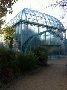 Les serre du jardin d'Auteuil